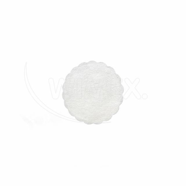 Rozetka PREMIUM Ø 9 cm bílá [40 ks]