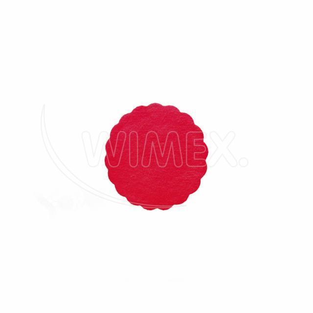 Rozetka PREMIUM Ø 9 cm červená [40 ks]