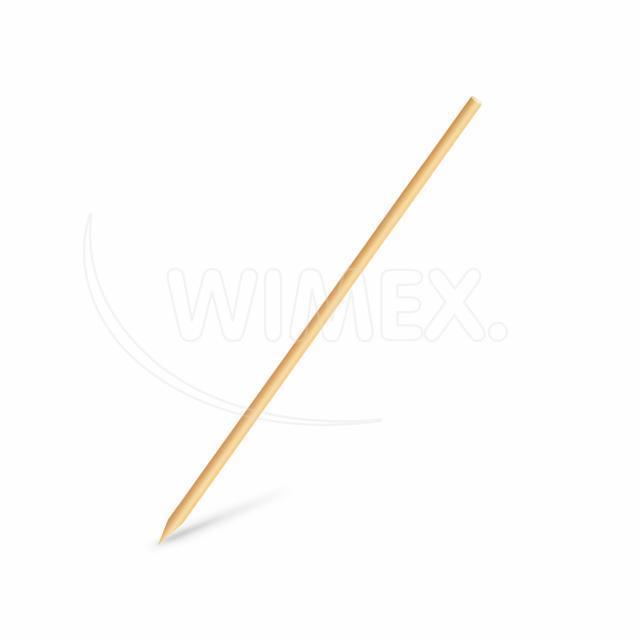 Dřevěná špejle hrocená 20 cm, Ø 3 mm [100 ks]