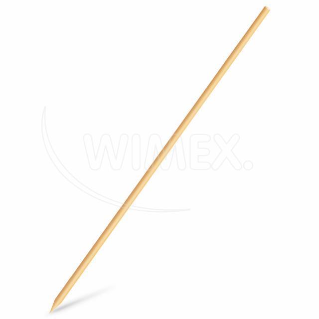 Dřevěná špejle hrocená 30 cm, Ø 3 mm [100 ks]
