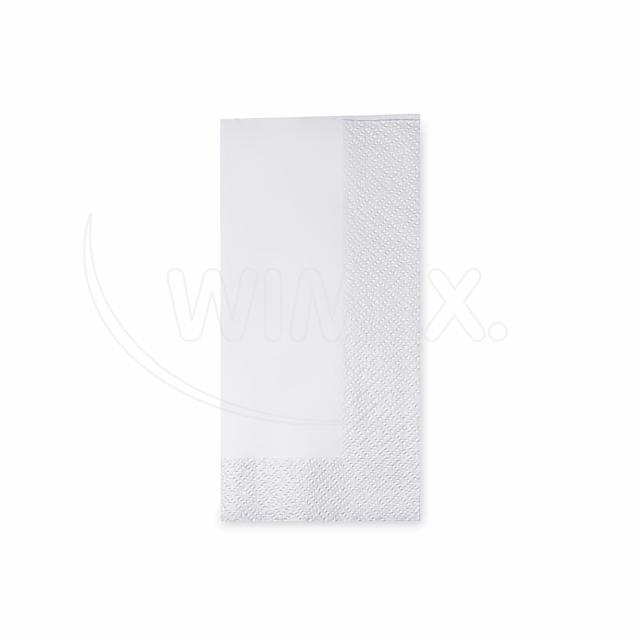 Ubrousek 2vrstvý, 33 x 33 cm bílý 1/8 skládání [250 ks]