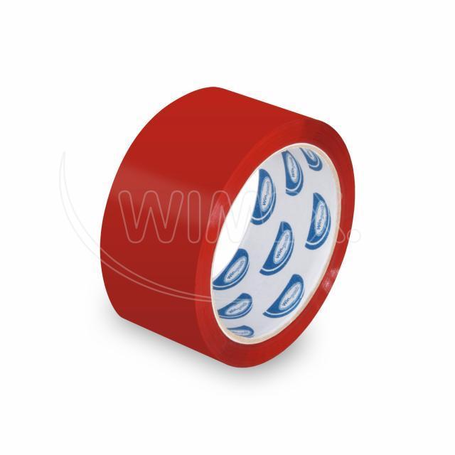 Lepící páska červená 66 m x 48 mm [1 ks]