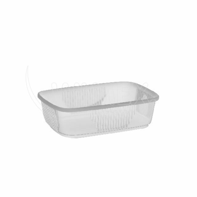 Miska hranatá průhledná 150 ml (PP) [1000 ks]