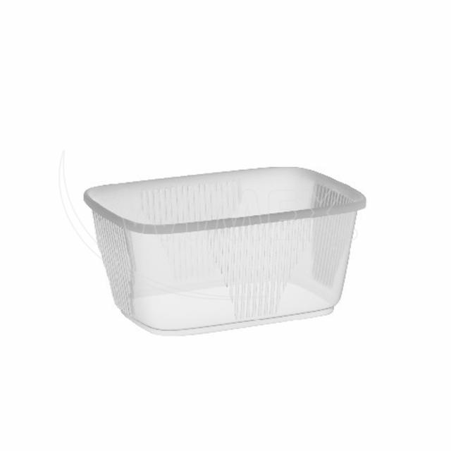 Miska hranatá průhledná 250 ml (PP) [1000 ks]