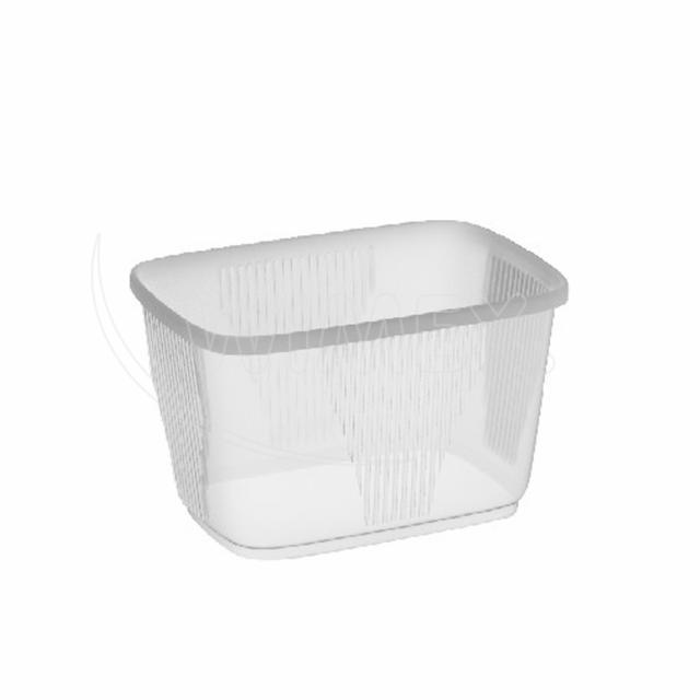 Miska hranatá průhledná 300 ml (PP) [1000 ks]