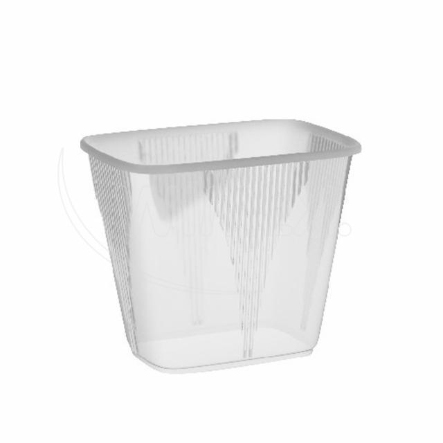 Miska hranatá průhledná 500 ml (PP) [1000 ks]