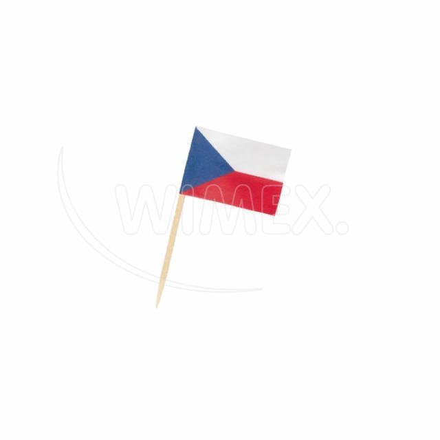 """Vlaječka """"CZ"""" 70 mm [50 ks]"""