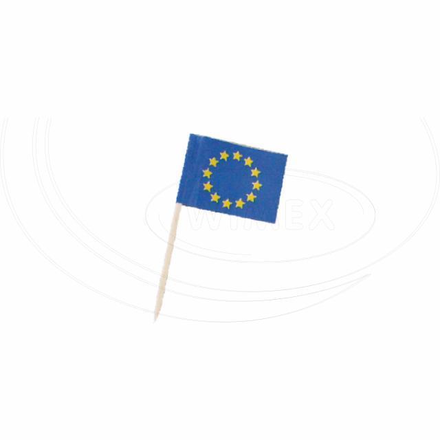 """Vlaječka """"EU"""" 70 mm [50 ks]"""