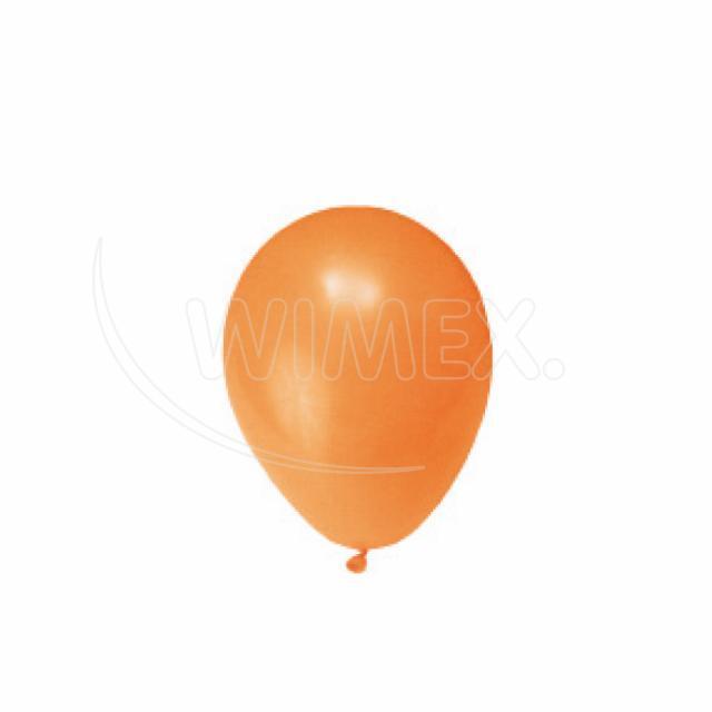"""Nafukovací balónek oranžový """"M"""" [100 ks]"""