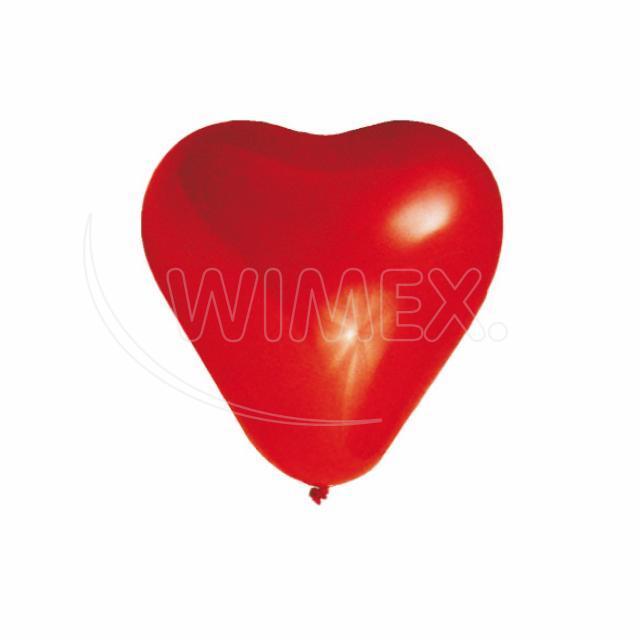 """Nafukovací balónek SRDCE """"L"""" [100 ks]"""