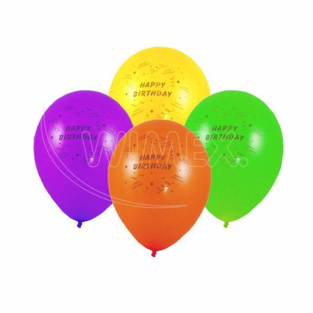 "Nafukovací balónek ""Happy Birthday"" ""M"" [100 ks]"