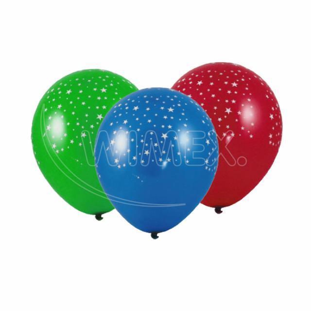 """Nafukovací balónek """"Hvězdy"""" """"L"""" [100 ks]"""
