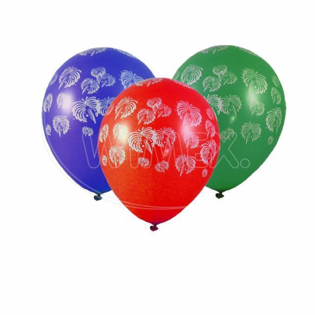 "Nafukovací balónek ""Ohňostroj"" ""L"" [100 ks]"