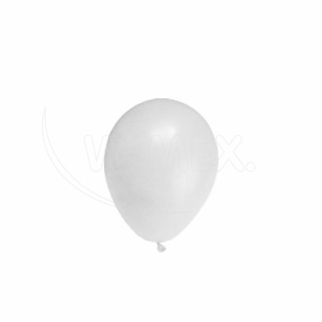 "Nafukovací balónek bílý ""M"" [10 ks]"