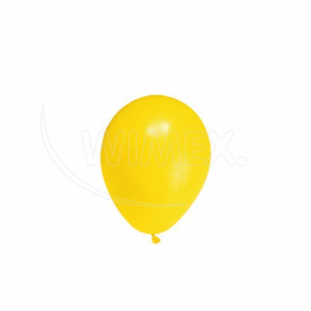 """Nafukovací balónek žlutý """"M"""" [10 ks]"""