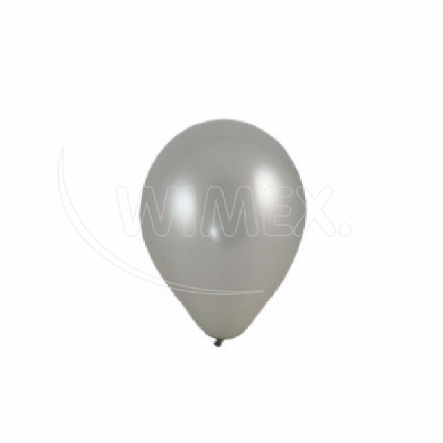 "Nafukovací balónek stříbrný ""M"" [10 ks]"