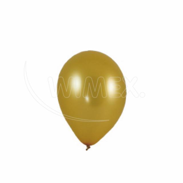 """Nafukovací balónek zlatý """"M"""" [10 ks]"""