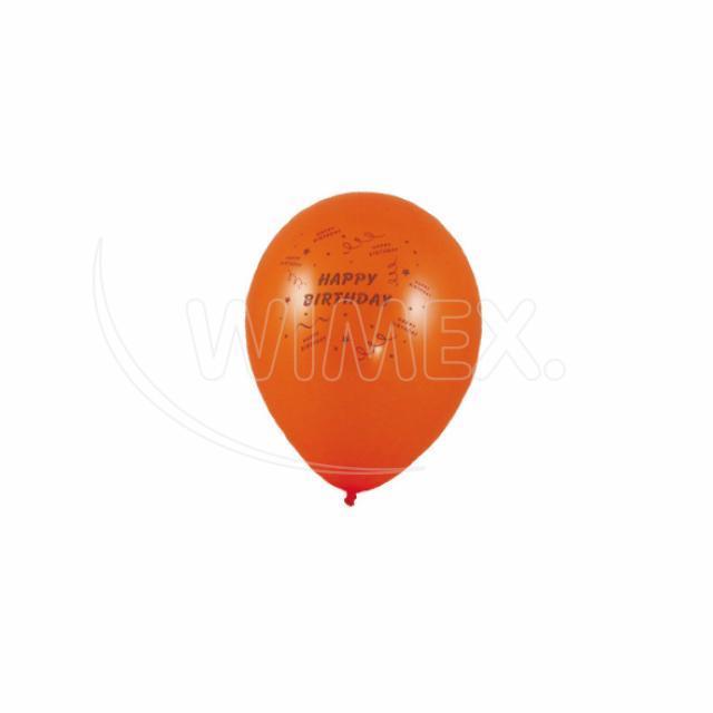 "Nafukovací balónek ""Happy Birthday"" ""M"" [10 ks]"