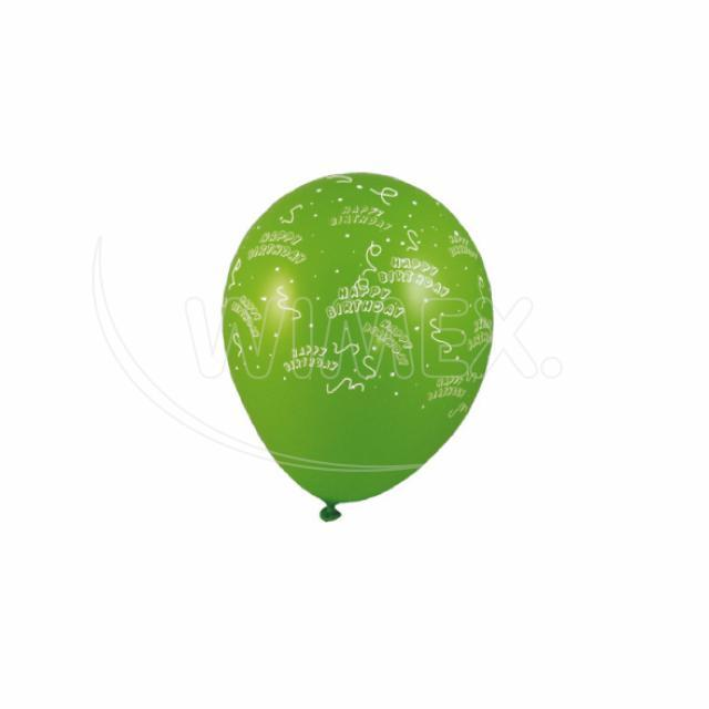 "Nafukovací balónek ""Happy Birthday"" ""L"" [5 ks]"