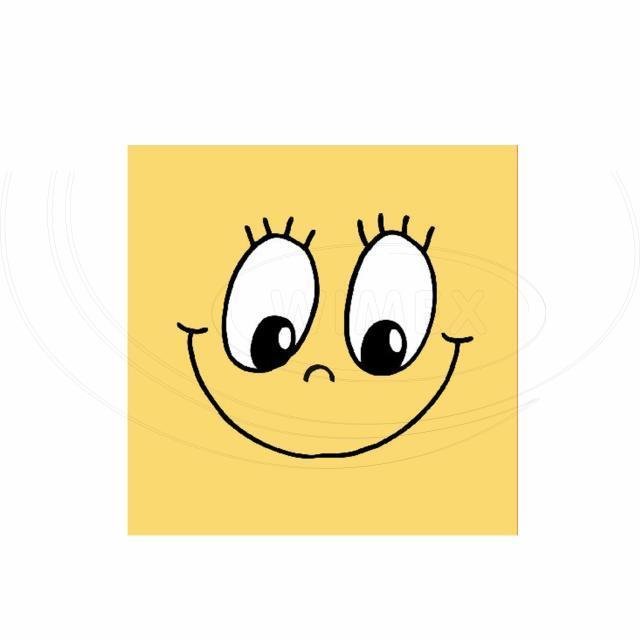 Ubrousek 3vrstvý, 33 x 33 cm SMILING FACE [20 ks]