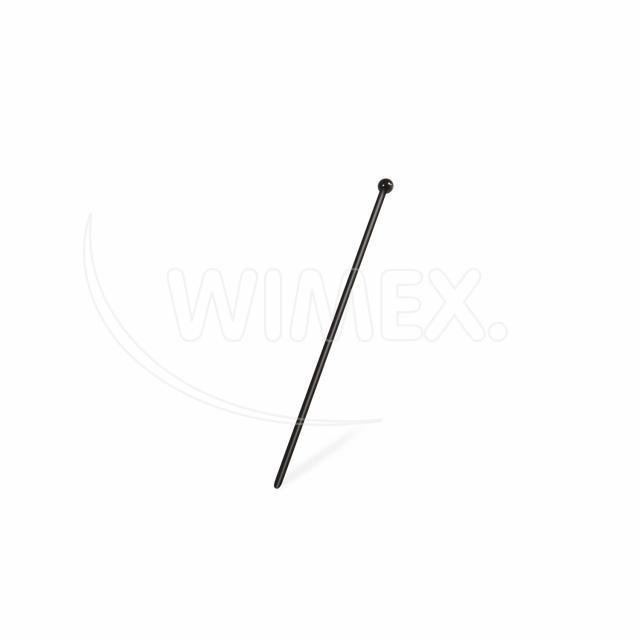 Míchačka černá KOKTEJL 150 mm [100 ks]