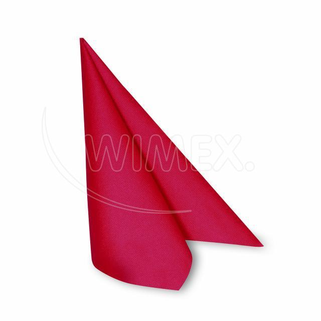 Ubrousek PREMIUM 40 x 40 cm červený [50 ks]