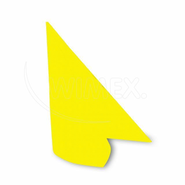 Ubrousek PREMIUM 40 x 40 cm žlutý [50 ks]