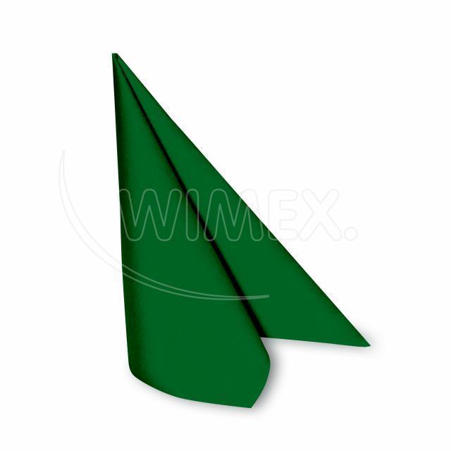 Ubrousek PREMIUM 40 x 40 cm tmavě zelený [50 ks]