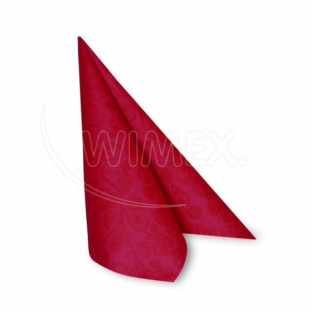 "Ubrousek PREMIUM 40x40cm ""dekor R"" červený [50 ks]"