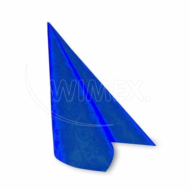 "Ubrousek PREMIUM 40x40cm ""dekor R"" tmavě modrý [50 ks]"