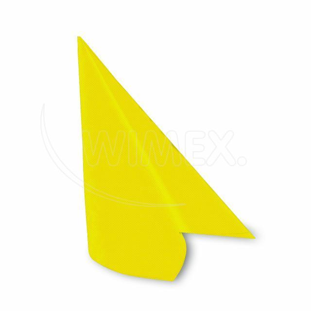 "Ubrousek PREMIUM 40x40cm ""dekor R"" žlutý [50 ks]"
