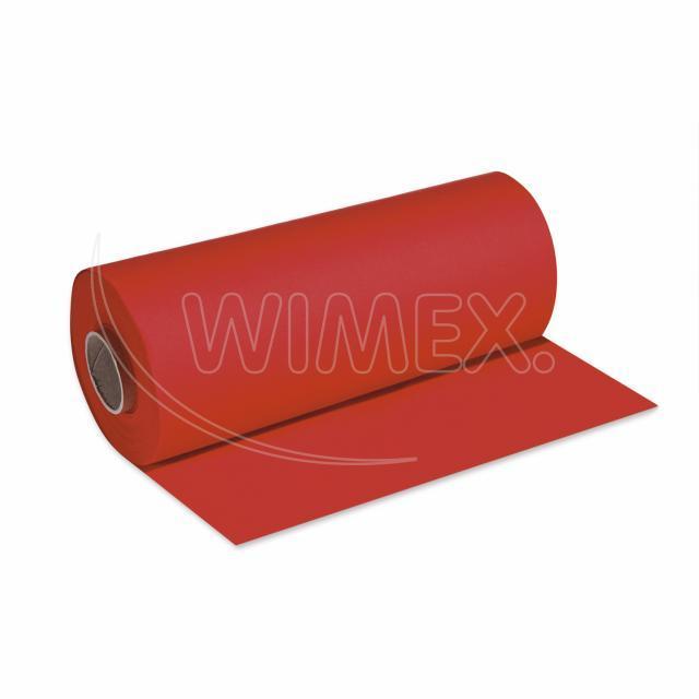 Středový pás PREMIUM 24 m x 40 cm červený [1 ks]