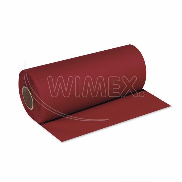Středový pás PREMIUM 24 m x 40 cm bordový [1 ks]