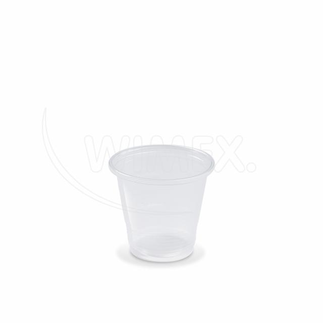 Kelímek průhledný 0,08 l -PP- (Ø 57 mm) [100 ks]