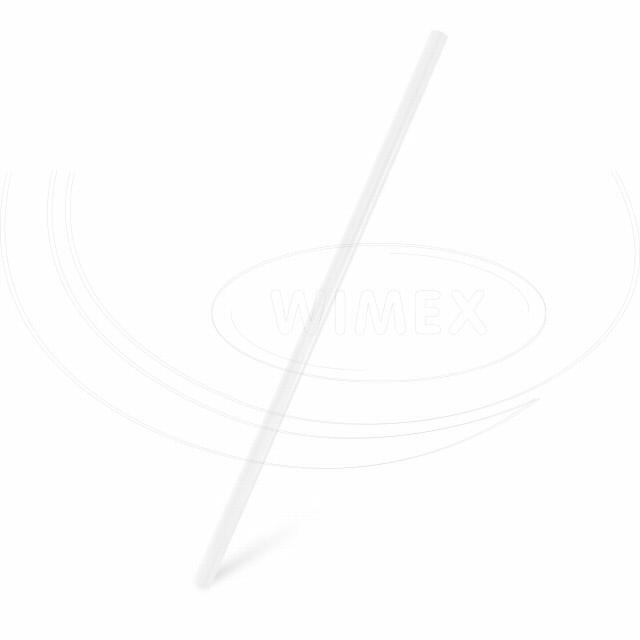 Slámka JUMBO čirá 25 cm, Ø 8 mm [500 ks]
