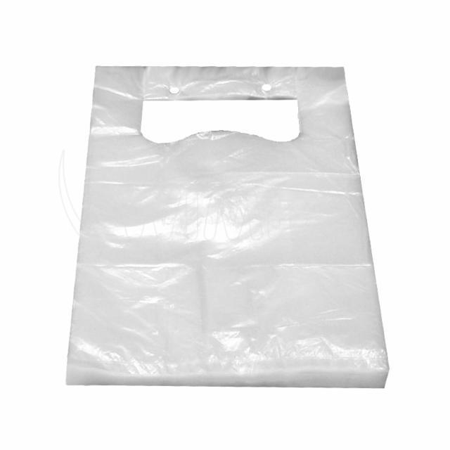 Taška 3kg HDPE transparentní v bloku [100 ks]