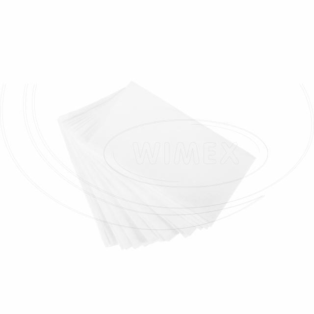 Ubrousek do zásobníku 2vrstvý, 19 x 16,5 cm bílý [5400 ks]