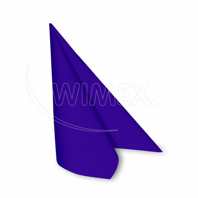Ubrousek PREMIUM 40 x 40 cm tmavě fialový [50 ks]