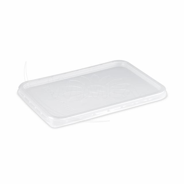 Víčko průhledné pro vaničky hranaté (PP) [50 ks]