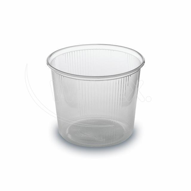 Miska kulatá průhledná 400 ml (PP) [100 ks]