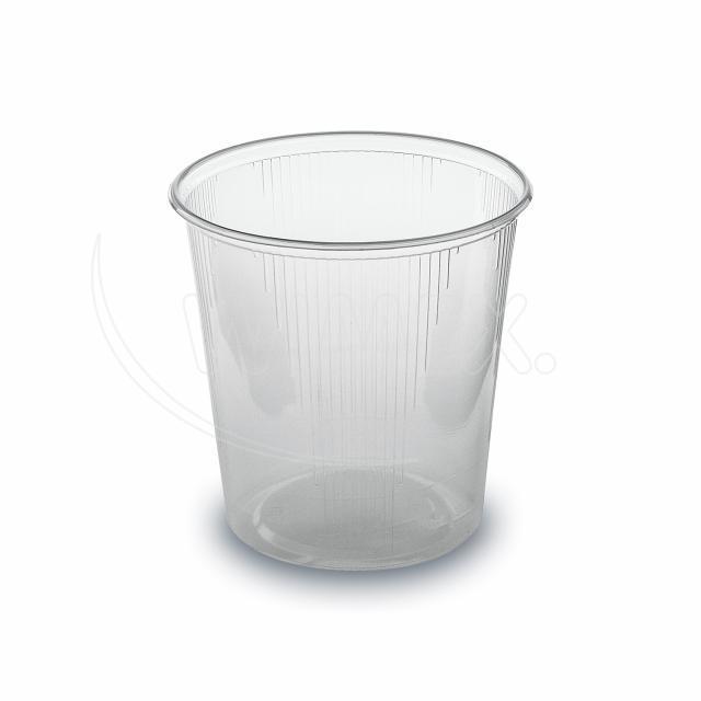 Miska kulatá průhledná 500 ml (PP) [100 ks]