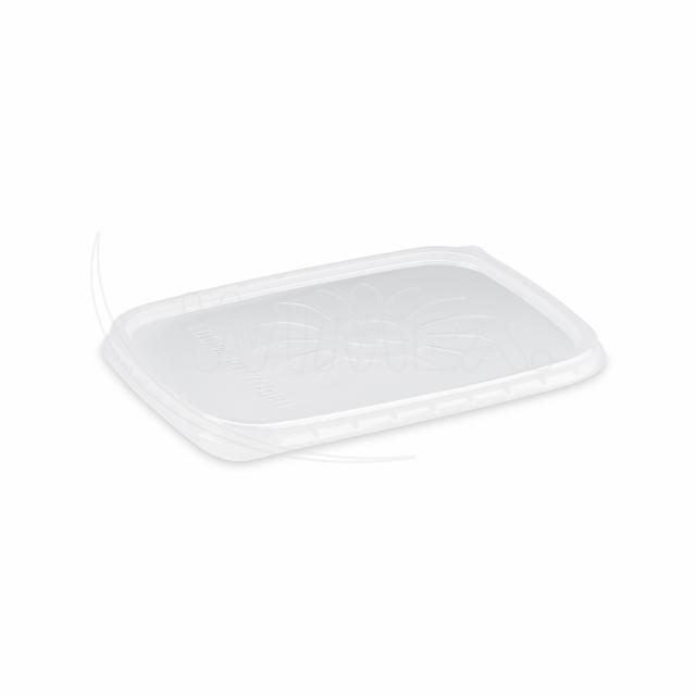 Víčko průhledné pro misky hranaté (PP) [100 ks]