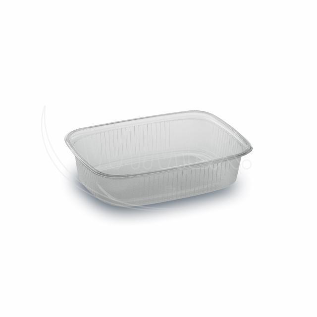 Miska hranatá průhledná 125 ml (PP) [100 ks]