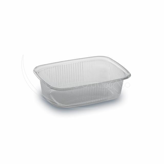Miska hranatá průhledná 150 ml (PP) [100 ks]