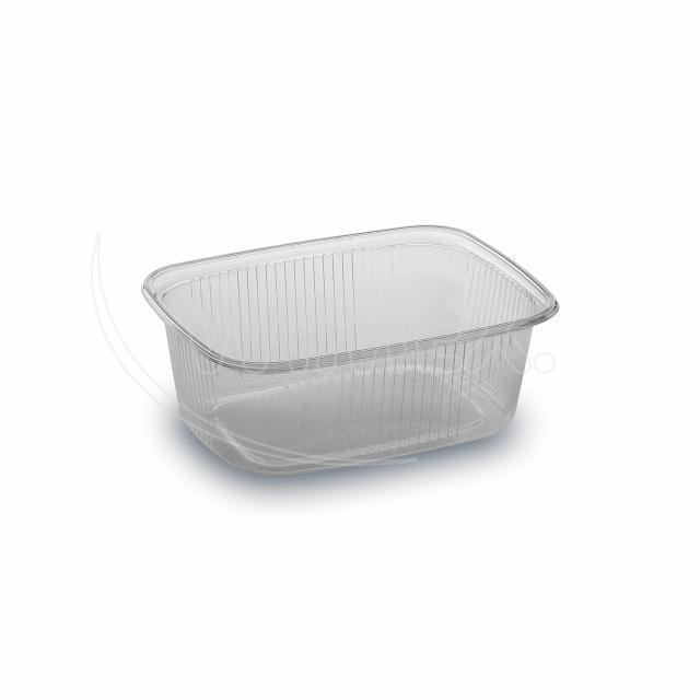 Miska hranatá průhledná 200 ml (PP) [100 ks]