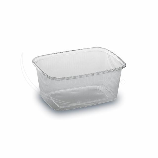 Miska hranatá průhledná 250 ml (PP) [100 ks]