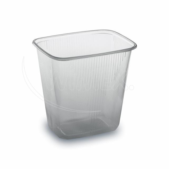 Miska hranatá průhledná 500 ml (PP) [100 ks]