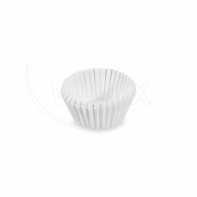 Cukrářský košíček bílý Ø 26 x 16 mm [1000 ks]