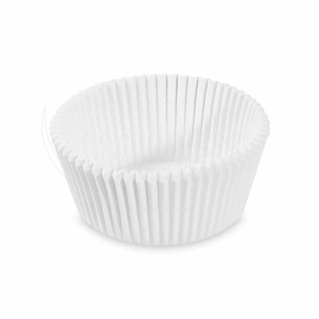 Cukrářský košíček bílý Ø 55 x 30 mm [1000 ks]