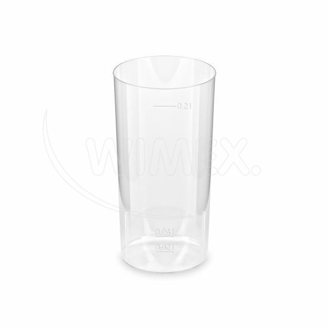 Kelímek krystal na Longdrink 2 cl / 0,2 l [10 ks]